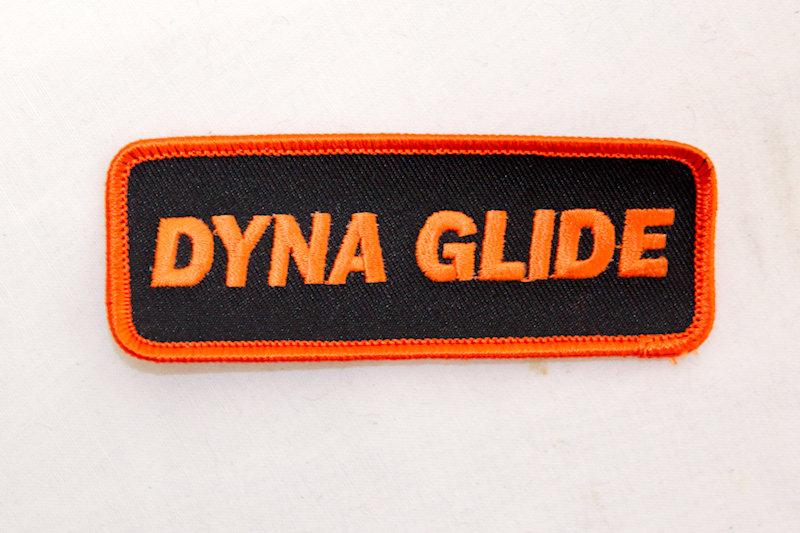 """Dyna Glide"" Sew/iron on p"