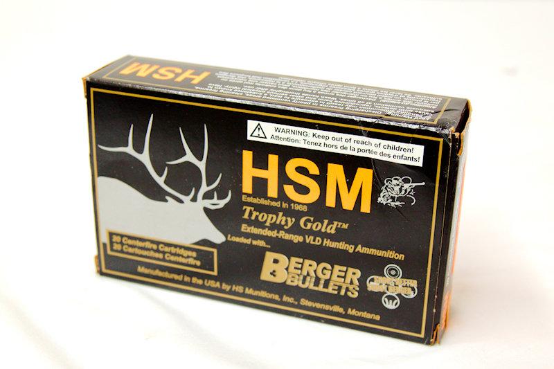 HSM 300RUM 210gr Berger HPBT