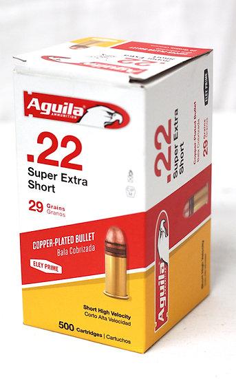 Aguila .22 Super Extra Short 29gr