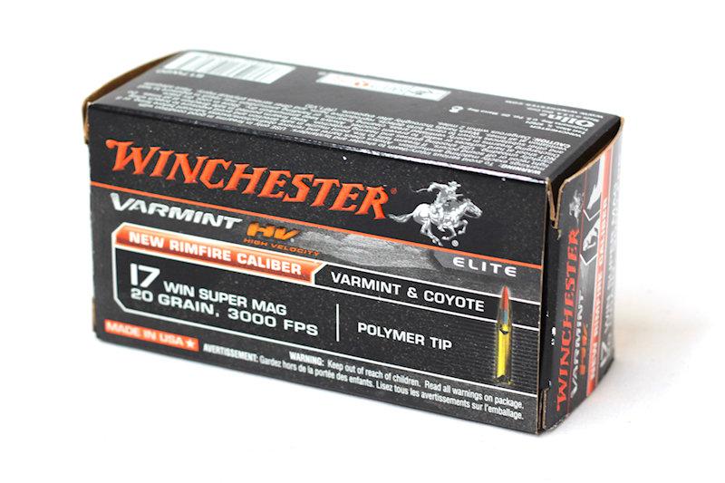 Winchester 17 Win Super Mag 20gr