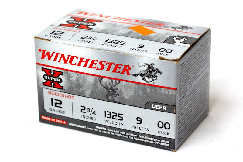 """Winchester Buck Shot 12ga 2-3/4"""" 00Buckshot"""