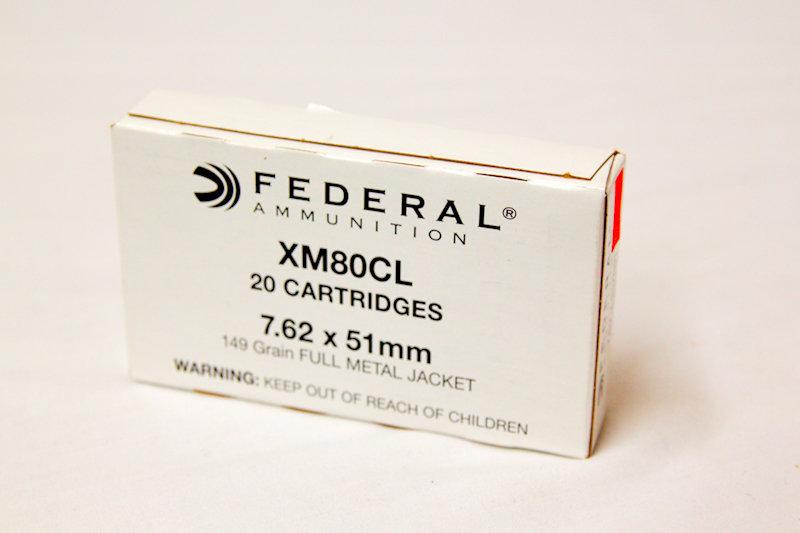 Federal 7.62x51mm 149gr FMJ