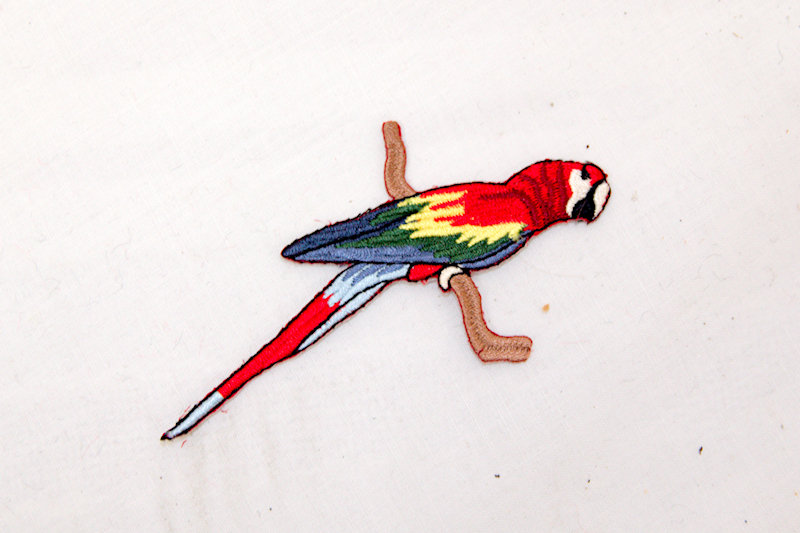"""""""Parrot"""" Sew/Iron on patch"""