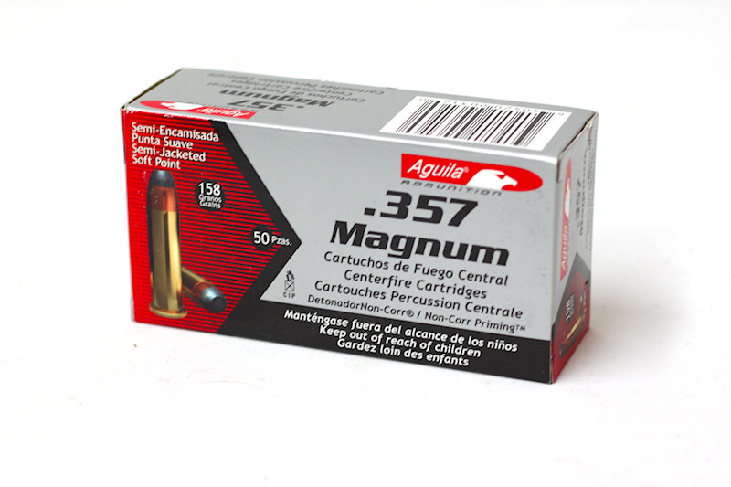 Aguila .357 Magnum 158gr Soft Point