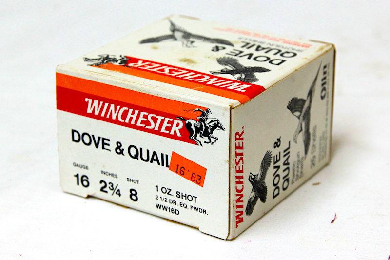 """Winchester 16ga 2-3/4"""" #8shot"""