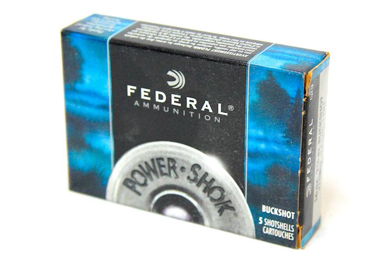 Federal 16ga 2-3/4 12 pellet Buckshot