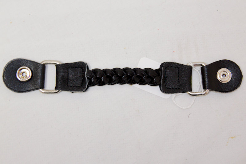 Braided Leather Vest Extender
