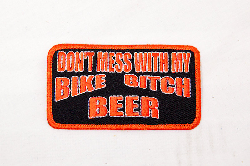 """""""Don't mess with my"""" Sew/iron on patch"""
