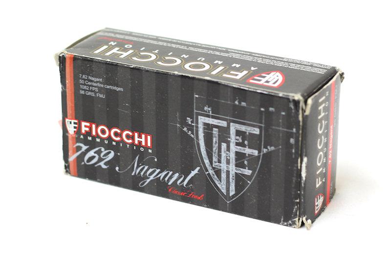 Fiocchi 7.62 Nagant 98gr FMJ