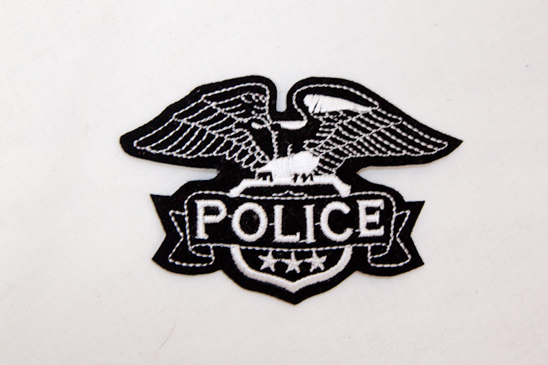"""""""Police"""" Sew/Iron on patch"""