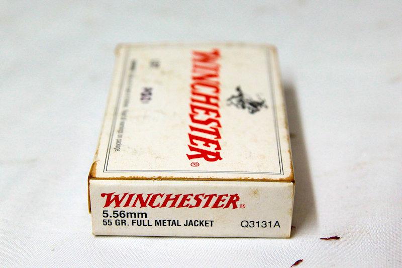 Winchester 5.56 55gr FMJ