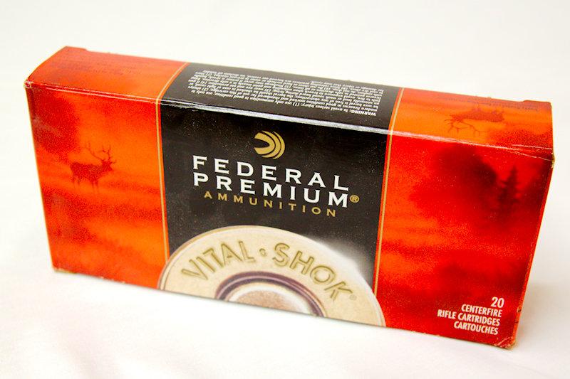 Federal Premium 375H&H Mag 300gr Nosler Partition