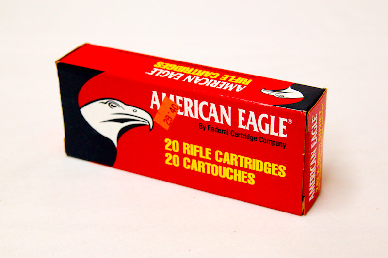 American Eagle 7.62x39 Soviet 124gr FMJ