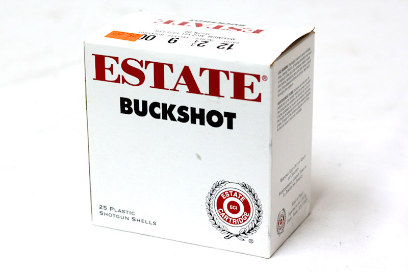 "Estate buck Shot 12ga 2-3/4"" 9pellet 00buckshot"