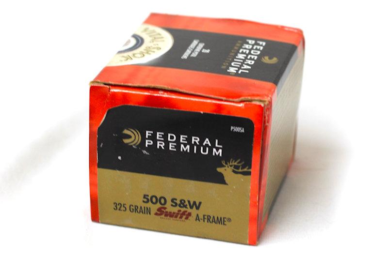 Federal Premium 50 S&W 325gr JHP