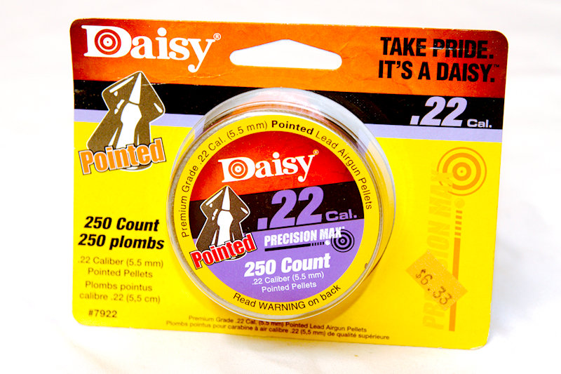 Daisy .22Cal Pointed Pellets