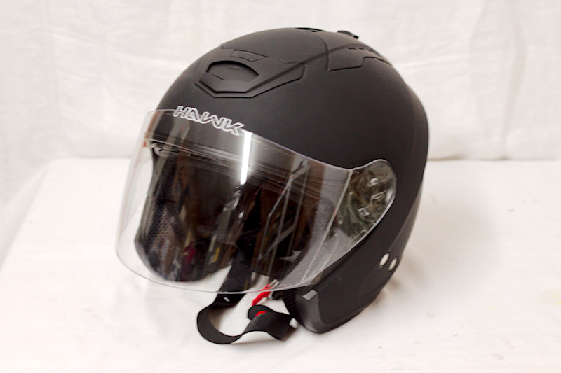 Hawk X-Large Helmet w/ Facemask. DOT cert