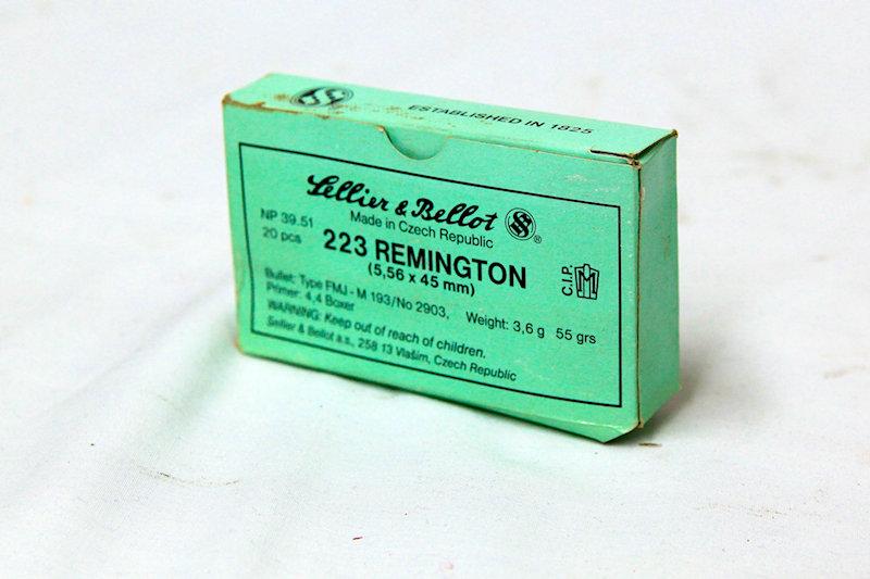 Lellier & Bellot.223/556x45 55gr FMJ