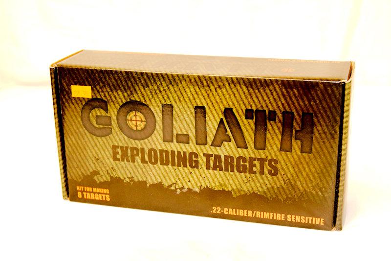 Goliath Exploding Target Mixing Kit