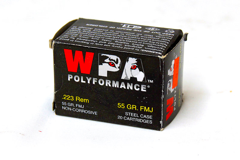 WPA .223 55gr FMJ Steel Case