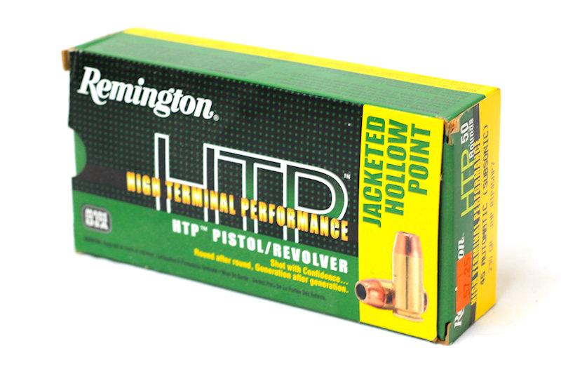 Remington HTP 45 Suto Subsonic 230gr JHP