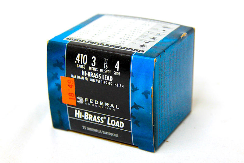 "Federal 410ga 3"" 11/16oz #4 shot"