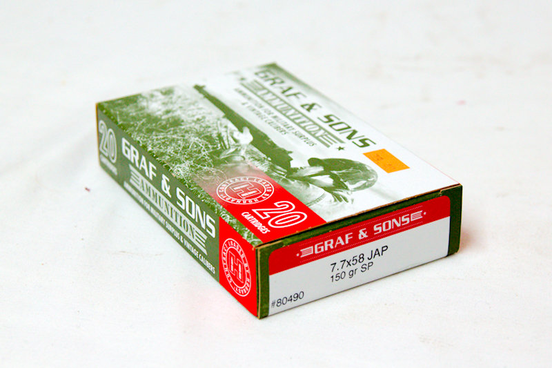 Graf & Sons 7.7x58 Jap 150gr SP