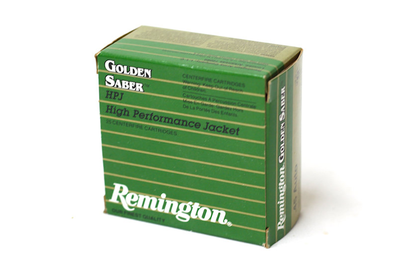 Remington Golden Saber .45 Auto 230gr JHP
