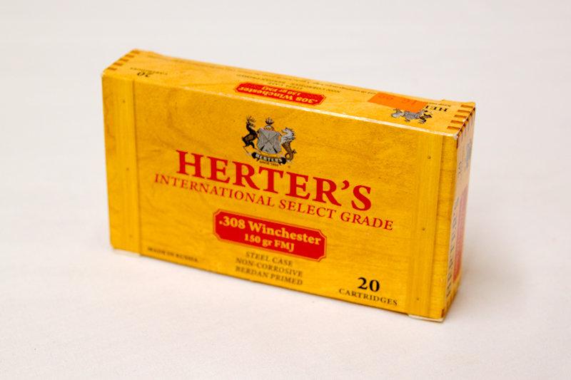 Herter's 308Win 150gr FMJ