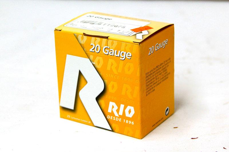 RIO 20ga 2-1/2 7/8oz #7-1/2Shot