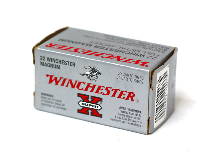 Winchester 22mag 40gr JHP