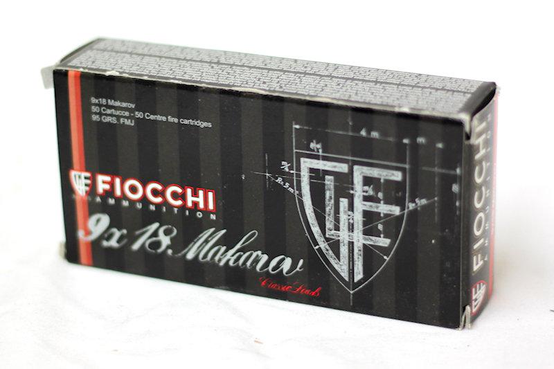 Fiocchi 9X18 Makarov 95gr