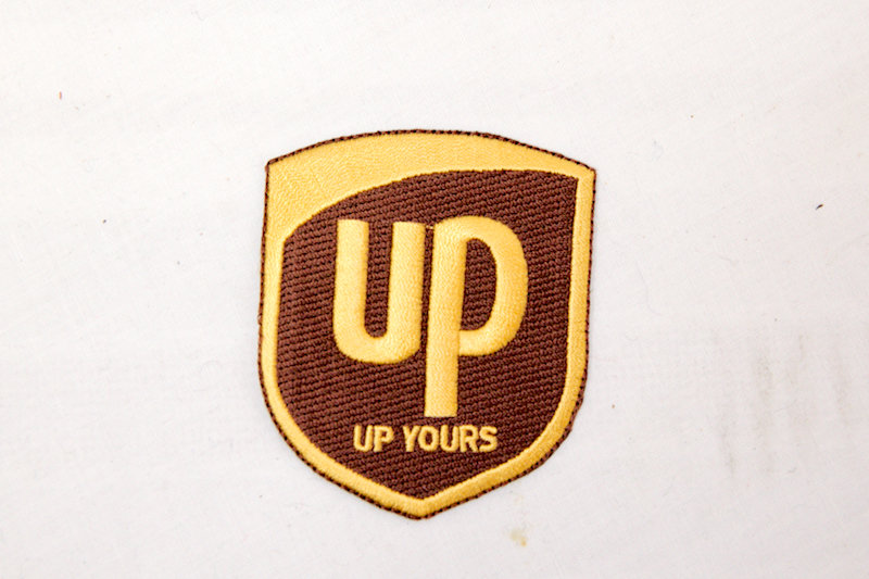 """""""UP Yours"""" Sew/Iron on Patch"""