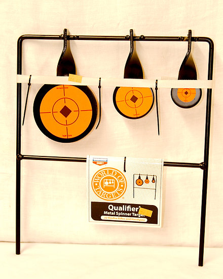 Qualifier Spinner Target .22 Rimfire