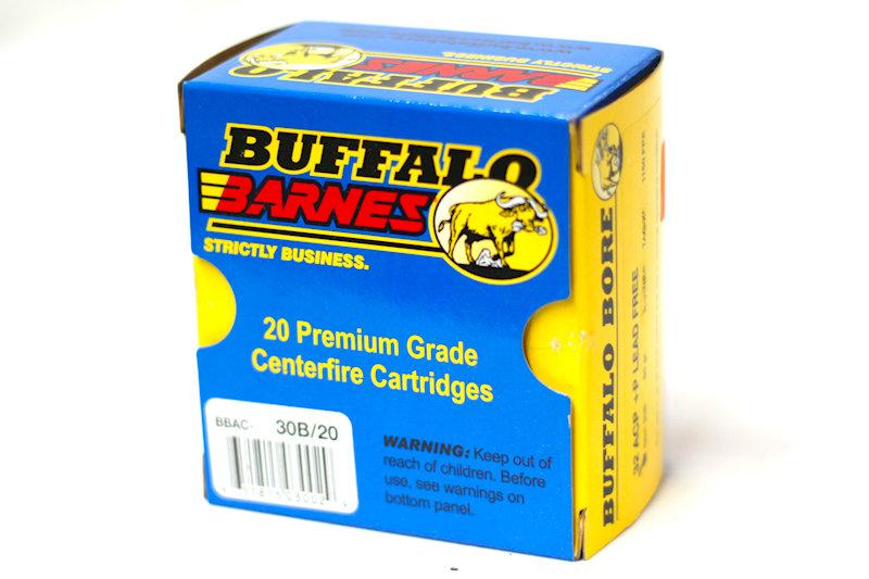Buffalo Barnes 32ACP +p Lead Free 60gr