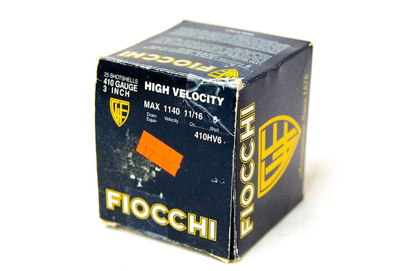 """Fiocchi Max  410ga 3"""" 11/16oz #6 shot"""