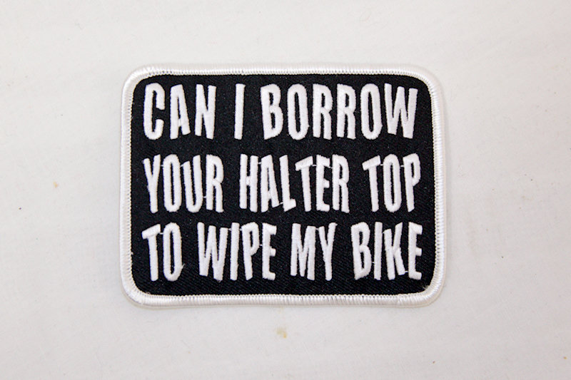 """""""Barrow you Halter Top"""" Sew/iron on patch"""