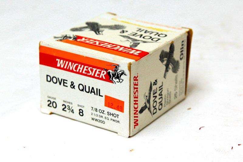 """Winchester 20ga 2-3/4"""" #8shot"""