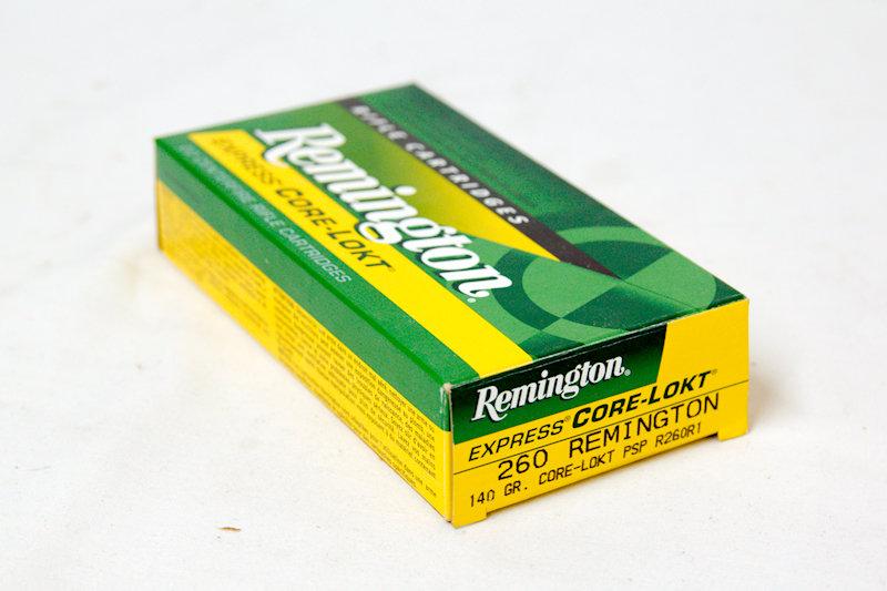 Remington 260 140gr Core-Lockt