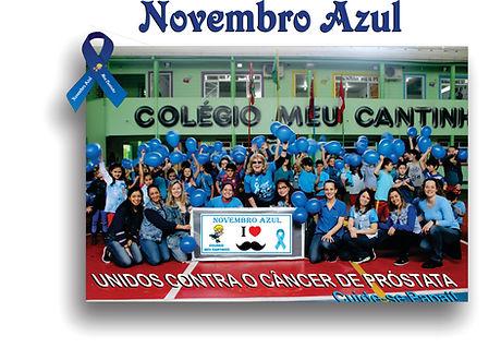 O Colégio Meu Cantinho desenvolve ações sociais durante todo o ano.