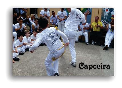 Aulas de Capoeira com o Mestre Tigre