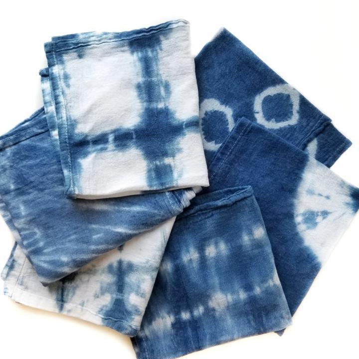 Shibori & Indigo Dye workshop