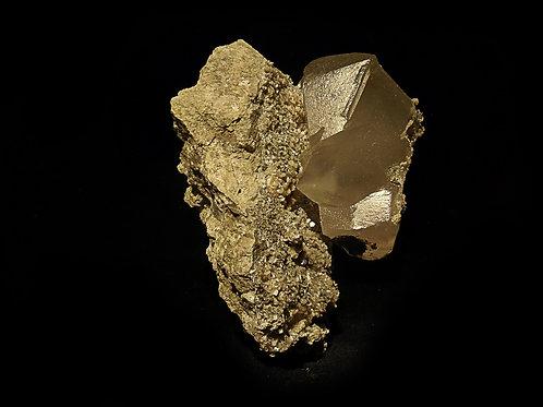 Calcite + Stellerite