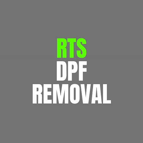 RTS Remap DPF Removal Only