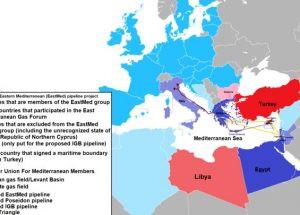 הגז הישראלי ופוטנציאל הבריתות של ישראל 2020