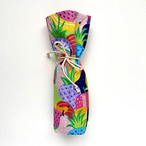 Wine Bottle Gift Bag - Tutti frutti