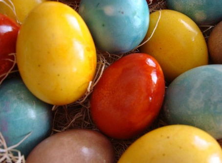 Dyeing Eggs With Kitchen Scraps