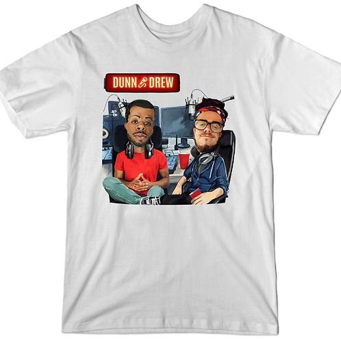 Dunn and Drew Podcast Logo T-shirt
