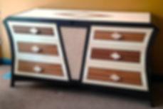 Art Deco dresser, Mid-Century Modern Dresser