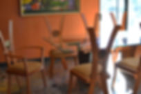 Custom designed dining chairs